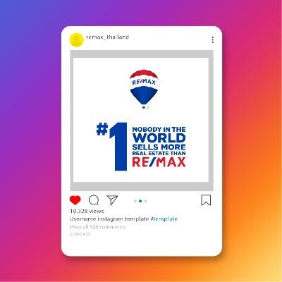 Real Estate influencer on Instagram REMAX