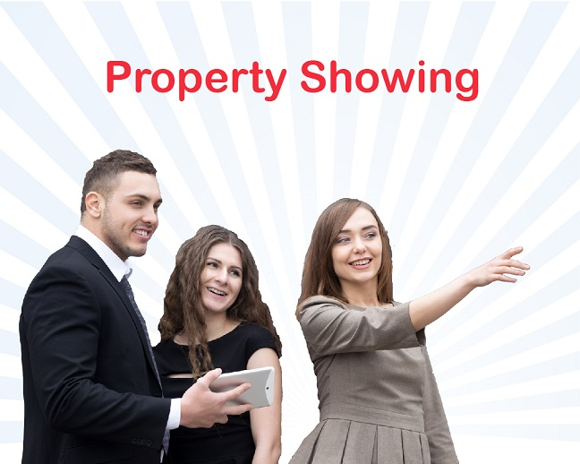 Professional Property Showing