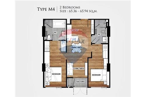 RE/MAX Executive Homes Agency's FQ - Vtara 2 Bed 2 Bath - Top Floor 9