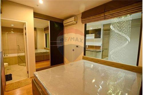 RE/MAX Properties Agency's 1 Bed duplex for rent 40,000Baht at Villa Asok 2