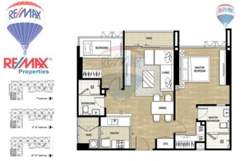 RE/MAX Properties Agency's FOR SALE The Room Sukhumvit 69 2BED 80SQM. 6