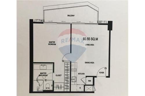 RE/MAX Executive Homes Agency's Off Plan 1 Bedroom for Sale Magnolias Waterfront 3
