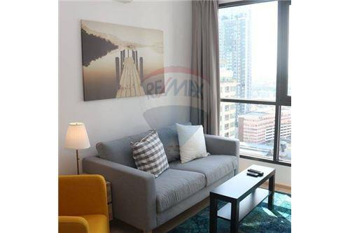 RE/MAX Properties Agency's beautiful 2bed on high floor Ideo Q Ratchathewi 6