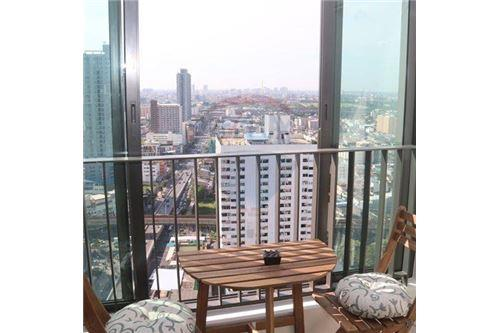 RE/MAX Properties Agency's beautiful 2bed on high floor Ideo Q Ratchathewi 3