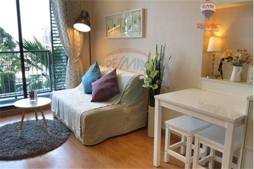 RE/MAX Properties Agency's FOR SALE Q HOUSE CONDO SUKHUMVIT 79  1BED 30.54SQM 2