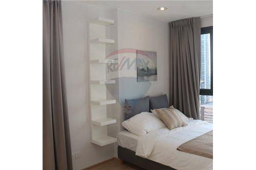 RE/MAX Properties Agency's beautiful 2bed on high floor Ideo Q Ratchathewi 8