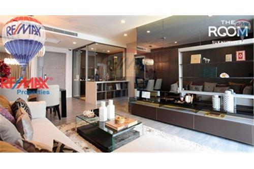 RE/MAX Properties Agency's FOR SALE The Room Sukhumvit 69 2BED 80SQM. 1