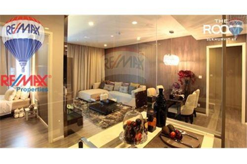 RE/MAX Properties Agency's FOR SALE The Room Sukhumvit 69 2BED 80SQM. 3