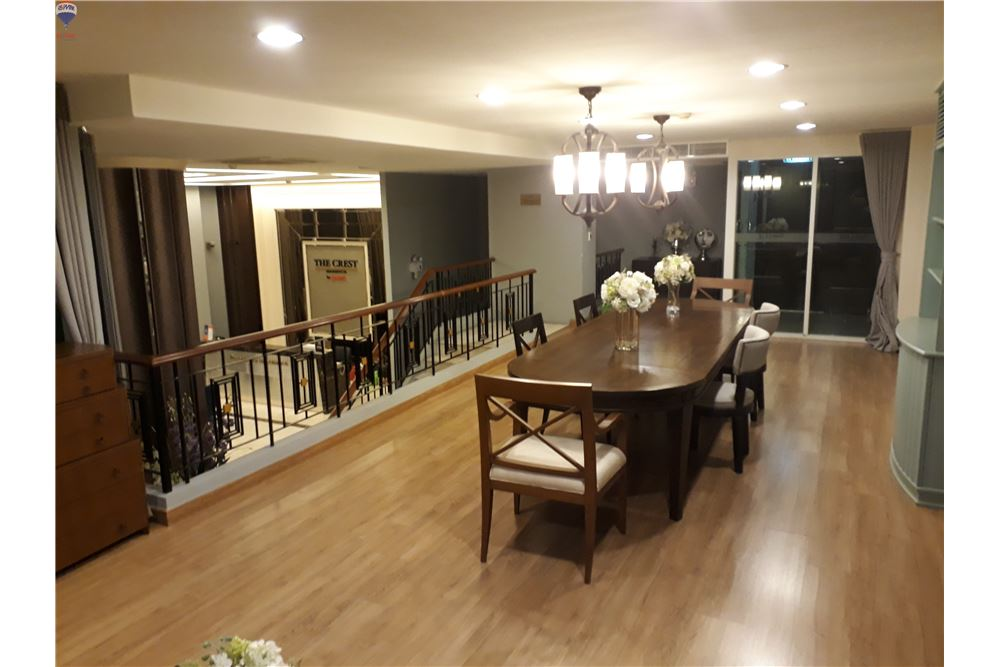 RE/MAX Properties Agency's FOR RENT THE CREST SUKHUMVIT 24 47 SQM 1 BED 3