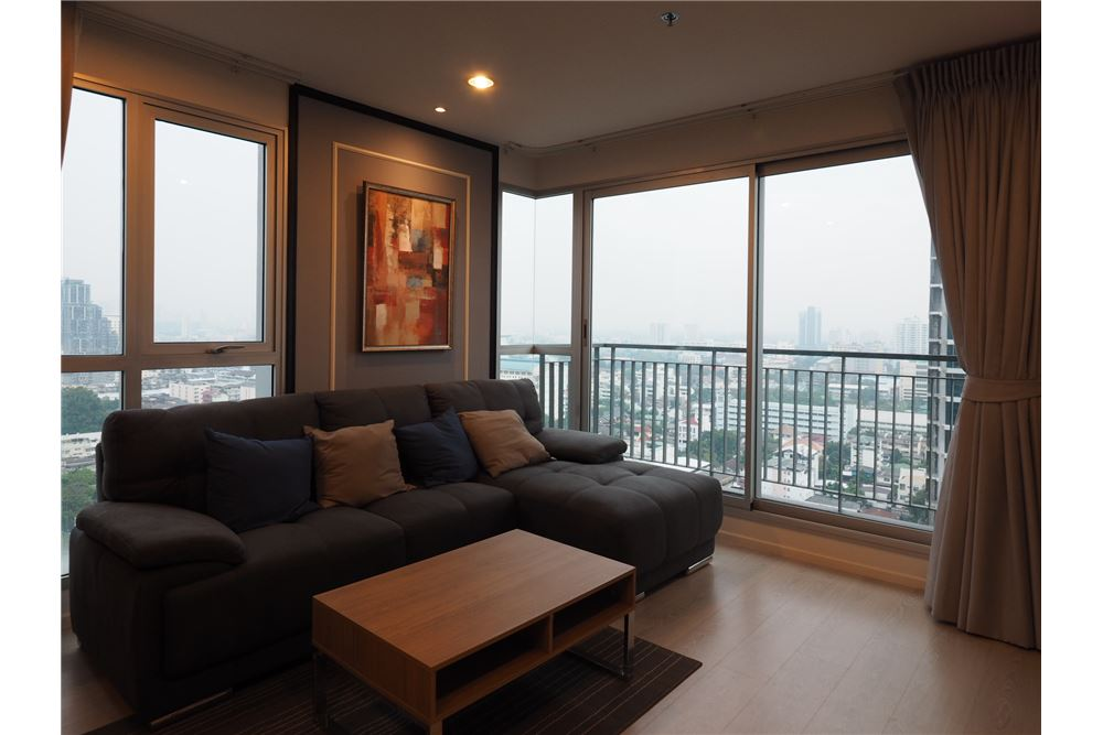 RE/MAX Executive Homes Agency's Nice 2 Bedroom for Rent Rhythm Sathorn Narathiwas 1