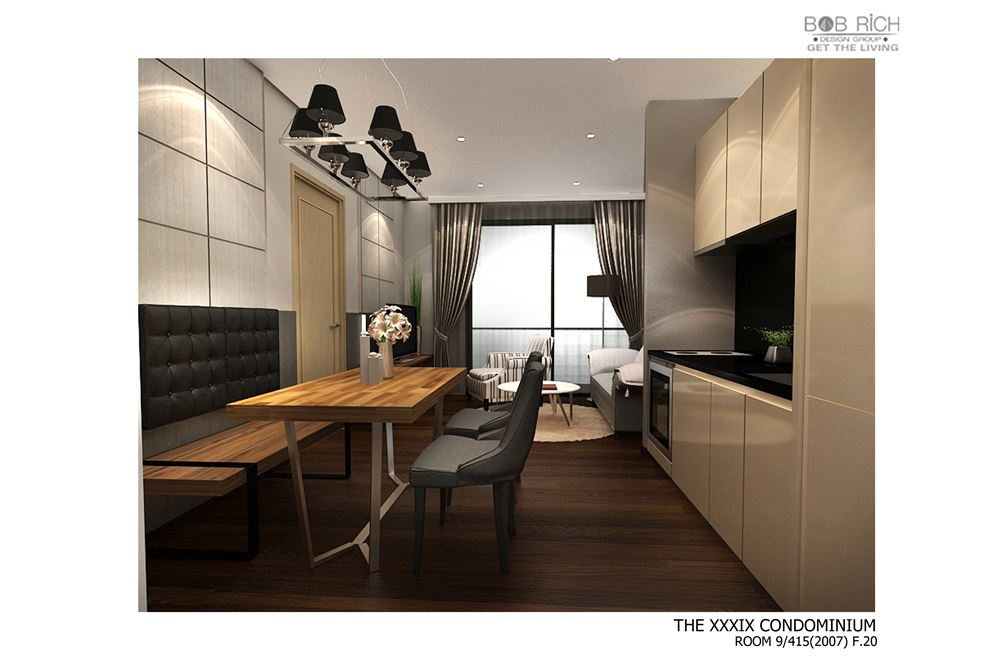RE/MAX Properties Agency's RENT The XXXIX by Sansiri 2BED 65.62SQM. 20