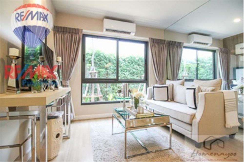 RE/MAX Properties Agency's FOR SALE  THE NEST SUKHUMVIT22  1BED 28.5SQM 19