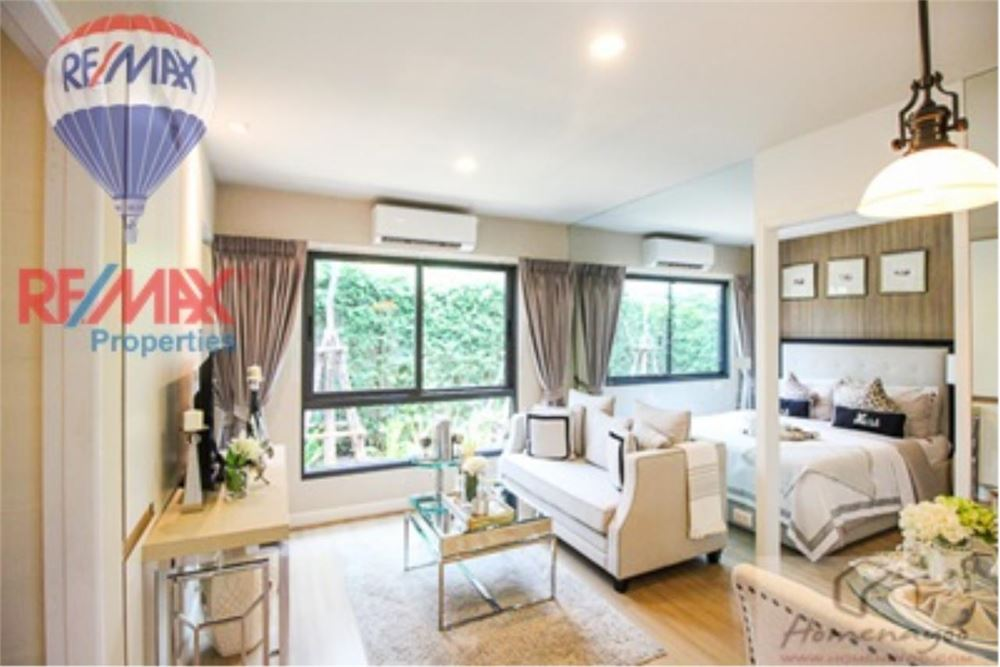 RE/MAX Properties Agency's FOR SALE  THE NEST SUKHUMVIT22  1BED 28.5SQM 1