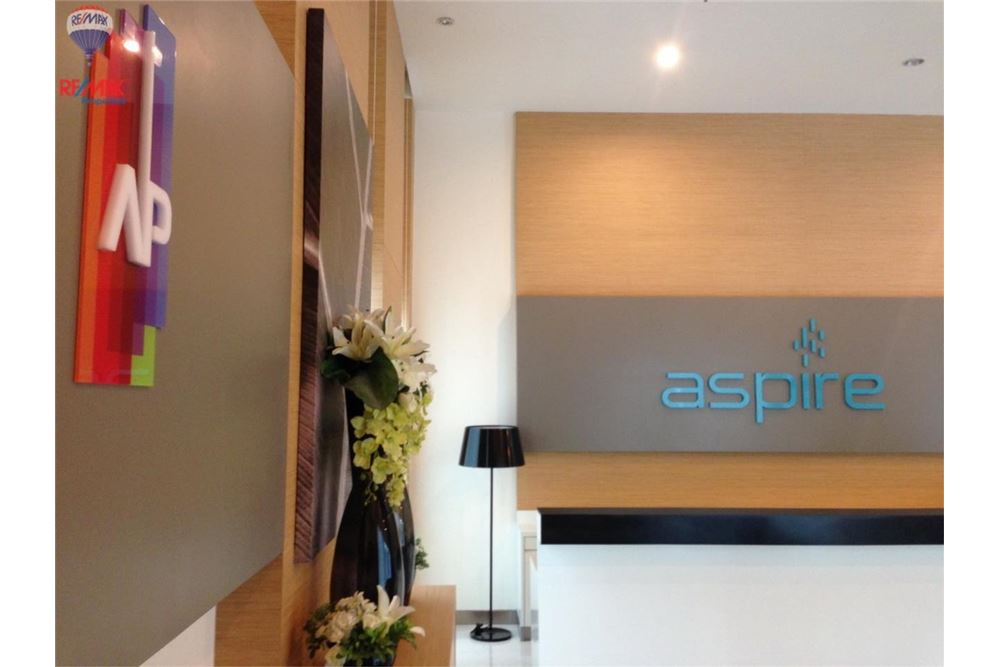 RE/MAX Properties Agency's Condo for  Rent The Aspire Rama 4 15