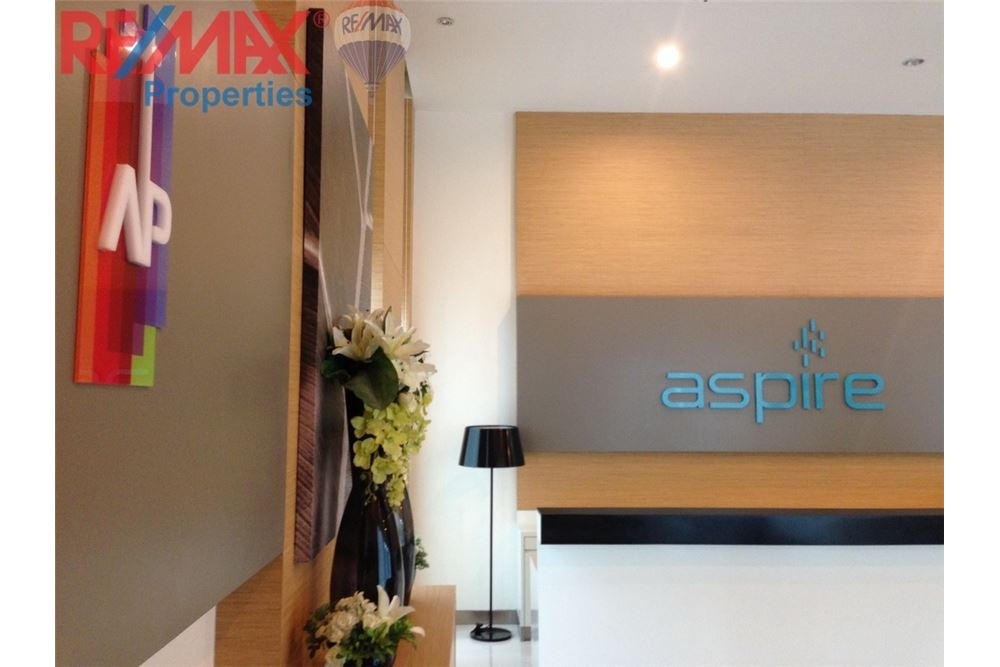 RE/MAX Properties Agency's RENT 1 Bedroom 28 Sq.m at Aspire Rama 4 2