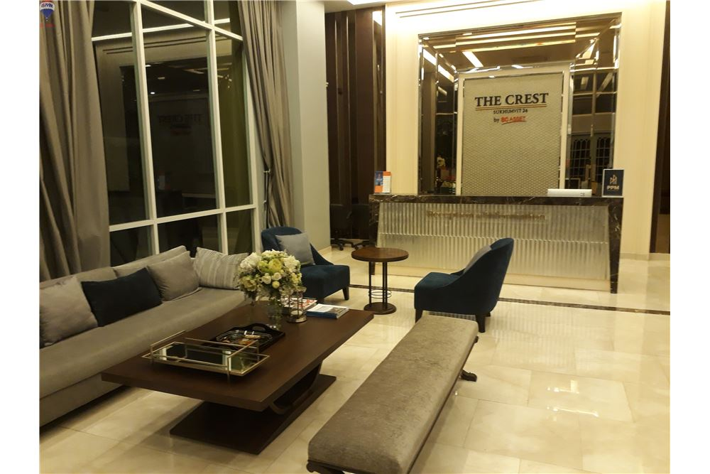 RE/MAX Properties Agency's FOR SALE THE CREST SUKHUMVIT 24 47 SQM 1 BED 1