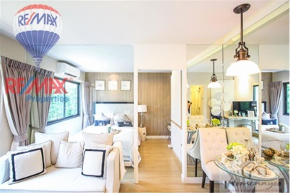 RE/MAX Properties Agency's FOR SALE  THE NEST SUKHUMVIT22  1BED 28.5SQM 4
