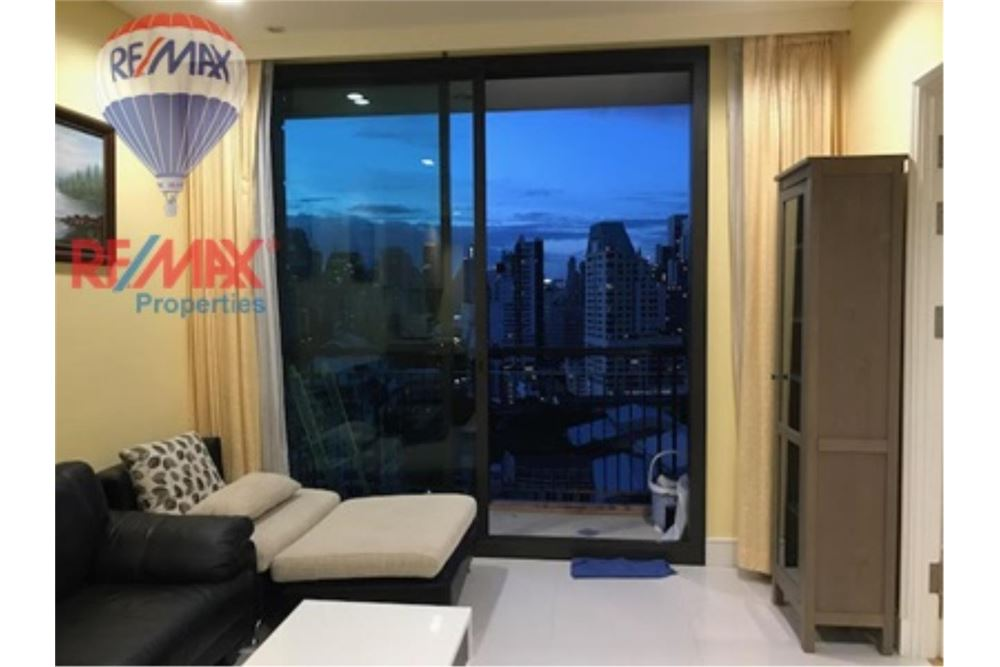 RE/MAX Properties Agency's FOR RENT AGUSTON SUKHUMVIT 22 55 SQM 1 BED 6