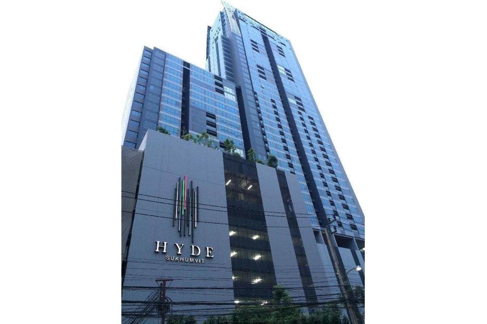 RE/MAX Properties Agency's RENT Hyde Sukhumvit 13 1BED 45SQM. 18