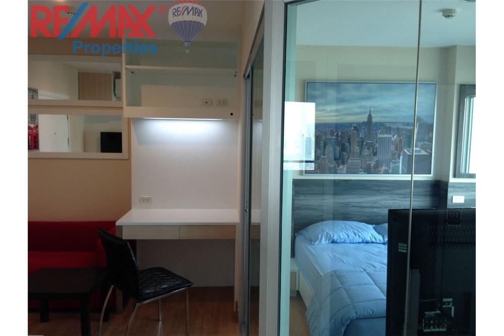 RE/MAX Properties Agency's RENT 1 Bedroom 28 Sq.m at Aspire Rama 4 8